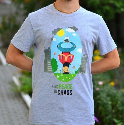 """Футболка """"Peace in Chaos"""""""
