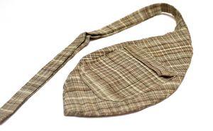 Мешочек для четок (серый в полоску)