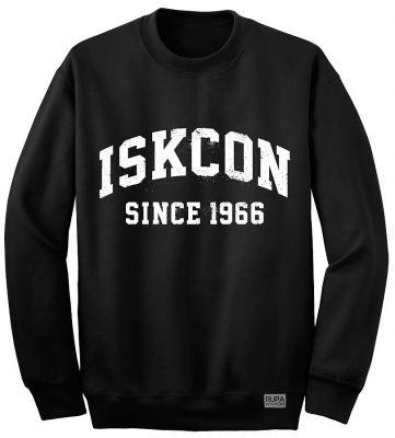 "Свитшот ""ISKCON since 1966"" черный"