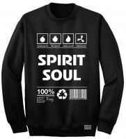 """Свитшот """"Spirit Soul"""" черный"""
